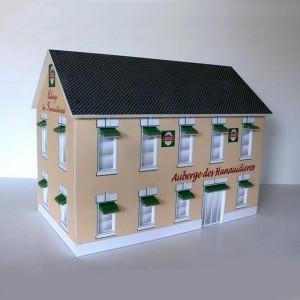 GP Miniatures Auberge des Hunaudieres Building