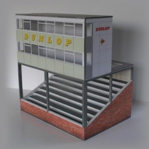 GP Miniatures Silverstone Control Tower
