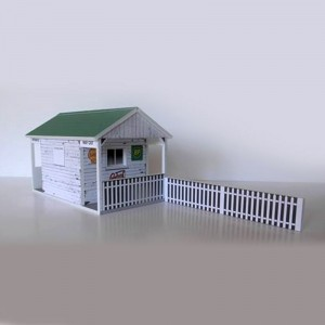 GP Miniatures Track Entrance Building