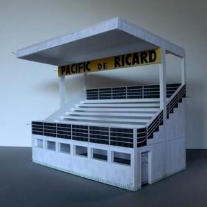 GP Miniatures Rouen Les Essarts Grandstand