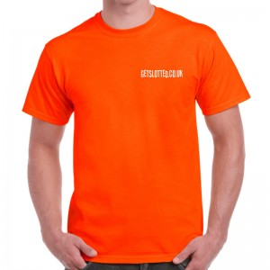 GetSlotted T-Shirt Orange