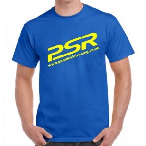 PSR T-Shirt Blue