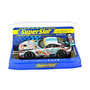 SuperSlot Mercedes AMG GT3 No.4 Anime