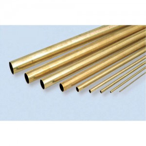 K&S Brass Round Tube 1/8 KS127