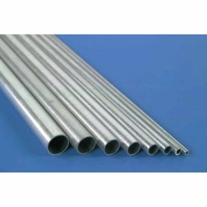 K&S Aluminum Round Tube 4mm x .45mm