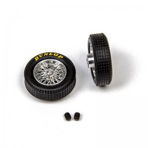 Mitoos Aluminium Classic Wheels & Dunlop Tyres 21.2x6mm