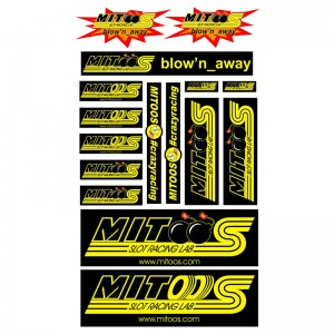 Mitoos Blow'n Away Stickers