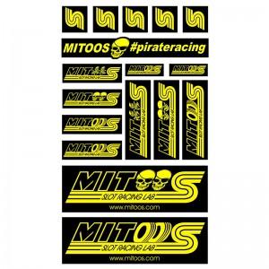 Mitoos Pirate Stickers