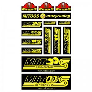 Mitoos Crazy Stickers