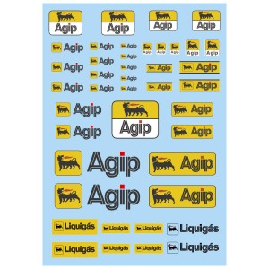 Mitoos Agip Decals