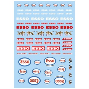 Mitoos Esso Decals