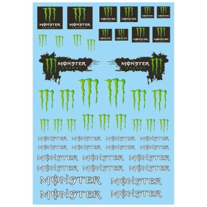 Mitoos Monster Decals