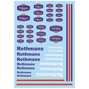 Mitoos Rothmans Decals