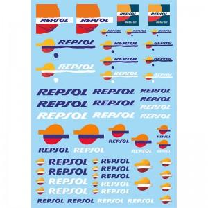 Mitoos Repsol Decals
