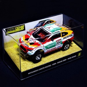 Mitoos Mitsubishi Lancer Racing No.304 Dakar 2009 Basic