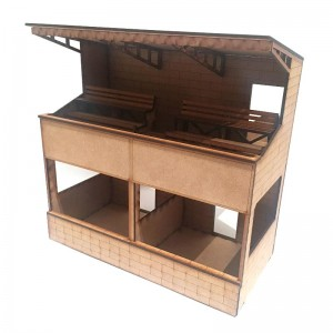 Two Tier Pit Building