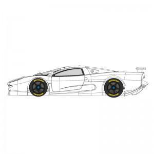 MR Slotcar Jaguar XJ220 White Kit