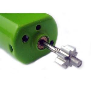 MR Slotcar Pinion Steel 9t 5.5mm Inline 1.5mm
