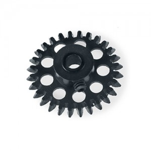 MR Slotcar Anglewinder Gear 30t 15.5mm Black MR6630