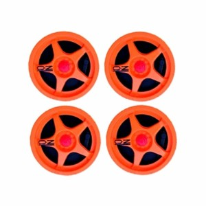 MR Slotcar Wheel Inserts McLaren F1 GTR Orange