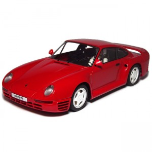 MSC Porsche 959 Street Car Red MSC-6019