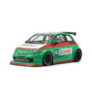 NSR Fiat Abarth 500 No.66 Castrol Green