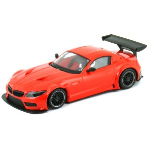 NSR BMW Z4 GT3 Test Car Red