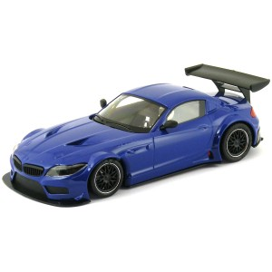 NSR BMW Z4 GT3 Test Car Blue