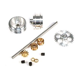 NSR Rear Axle Kit AW with Standard Wheels for Ninco NSR-4003