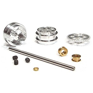 NSR Rear Axle Kit SW with Large Wheels for Scalextric NSR-4012