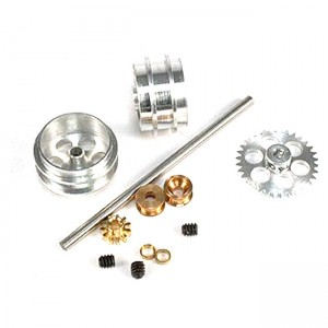 NSR Rear Axle Kit AW with Large Wheels for Ninco NSR-4013