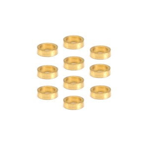 NSR Brass Axle Spacers 3/32 1.0mm
