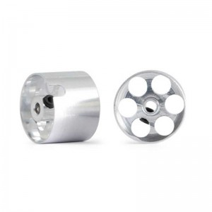 NSR Aluminium Wheels Rear for Sponge 14.7x11mm