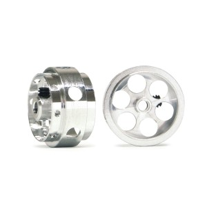 NSR Ultimate Aluminium Rear Wheels Drilled 17x10mm