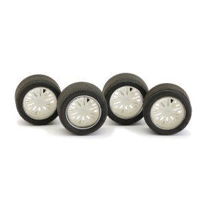 NSR Wheel Inserts BBS White for Ø17 Wheels