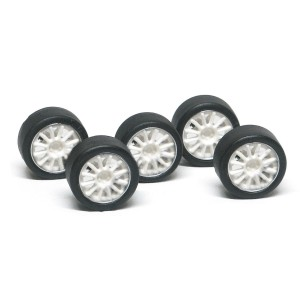 NSR Wheel Inserts 12 Spokes White for Ø17 Wheels