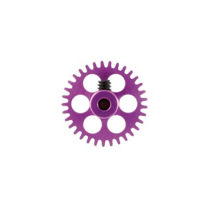 NSR Aluminium Sidewinder Gear 33t 17.5mm