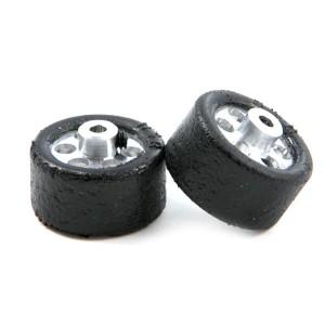 NSR Glued & Trued Rear Tyres 20x10mm Large Wheels NSR-9010