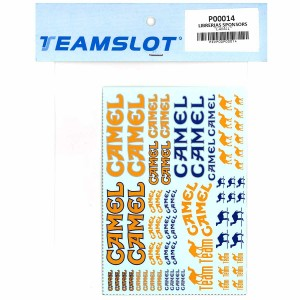Team Slot Tobacco Logo 2 Decals