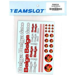 Team Slot Tobacco Logo 5 Decals