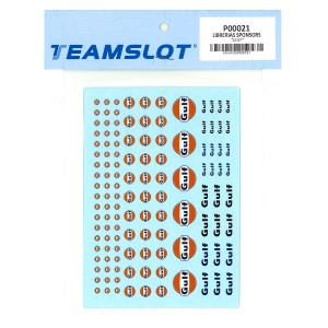 Team Slot Gulf Logo Decals