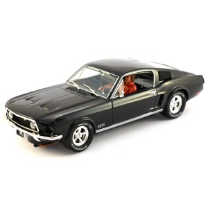 Pioneer Ford Mustang Fastback GT Jet Black - Route 66