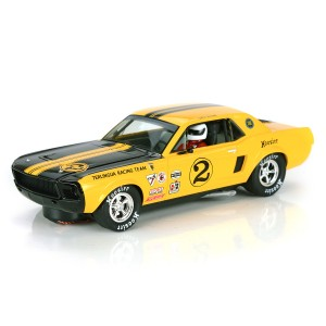 Pioneer Ford Mustang 1968 Trans-Am Yellow No.2 John Atwell