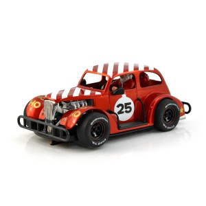 Pioneer Santa Legends Racer '37 Chevy Sedan Red