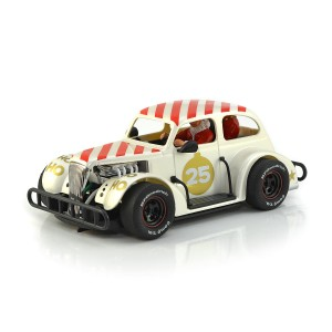 Pioneer Santa Legends Racer '37 Chevy Sedan White