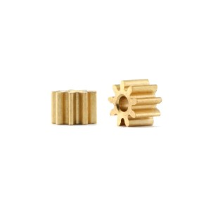 Policar Inline 9 Tooth Brass Pinion 1.5mm