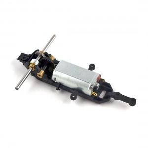 Policar F1 Assembled Wide Motor Mount, Axle 45mm, z17 Bevel Gear