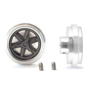 PCS Classic 15'' Alloy Wheels 16x5mm 6 Spoke