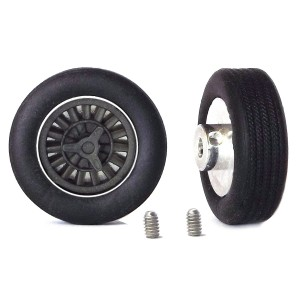 PCS Classic 14'' Alloy Wheels 14x5.7 Halibrand A & Tyres x2