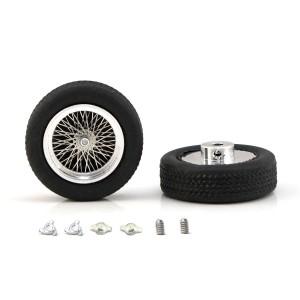 "PCS Classic 19"" Spoke Alloy Wheels & Tyres 23x7mm x2"